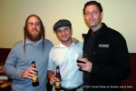 Rabbi Gavriel Goldfeder, Rabbi Josh Rose, Jeremy Cowan at Backcountry Pizza - October 2011